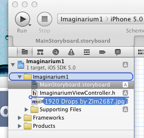 How to display image on iPhone using UIImageView and UIScrollView