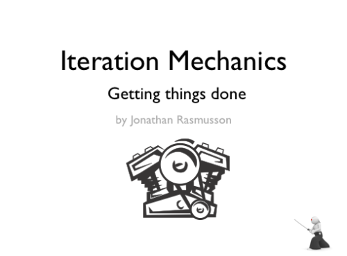 iteration mechanics