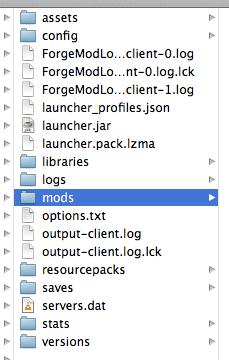 1. Download minecraft forge.