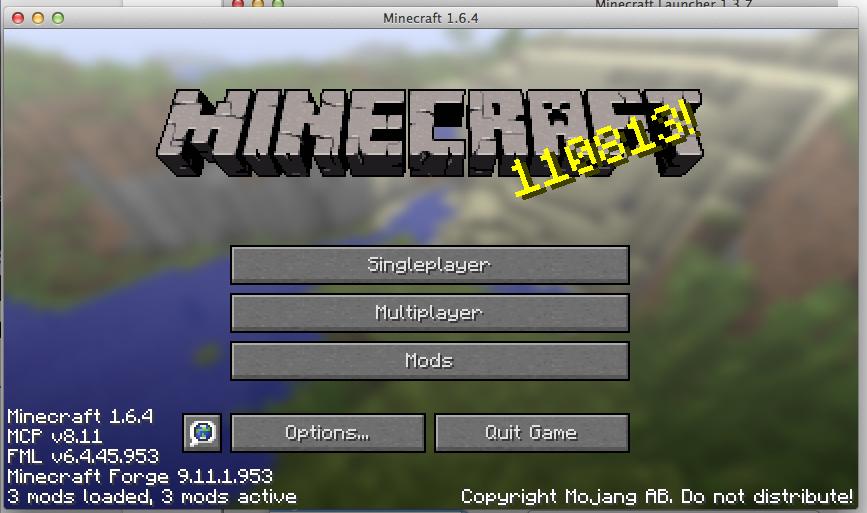 1. Choose Minecraft