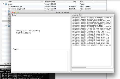 How to setup minecraft server on a mac – Part 1: Setup