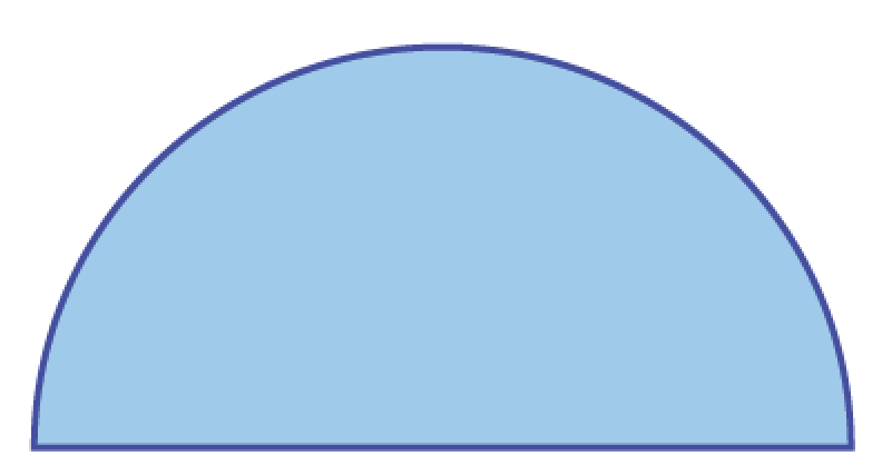 half circle picture