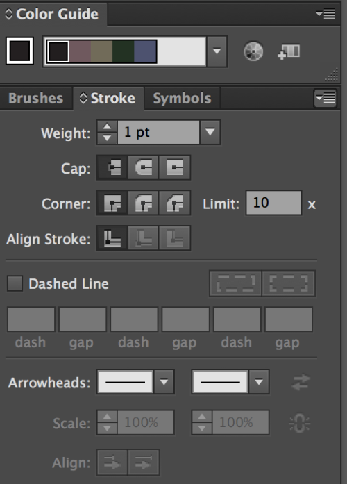 How To Smooth Drawing Lines In Illustrator : How to draw a line with arrowheads at both ends adobe