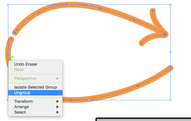 How to cut a line segment in adobe illustrator | The Agile