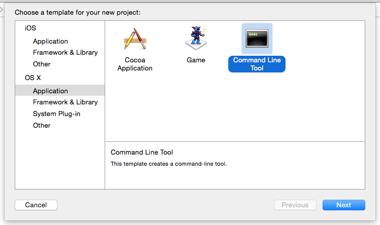 xcode command line tools