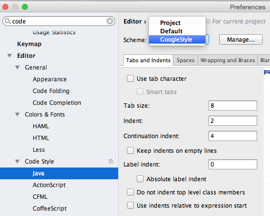 How to add IntelliJ Google Style Guide to IntelliJ | The
