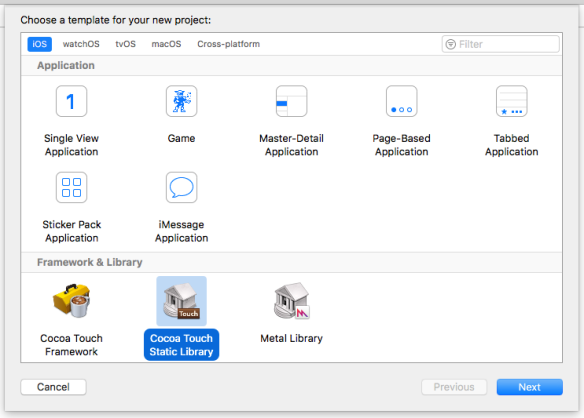 How to create universal static library iOS | The Agile Warrior