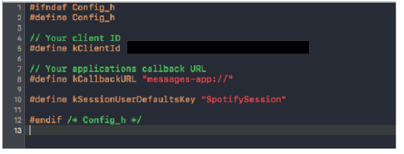 How to authenticate your iOS app using the Spotify iOS SDK and the